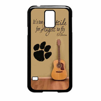 Ed Sheeran Guitar And Song Quotes Samsung Galaxy S5 Case