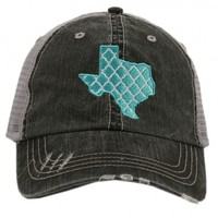 Katydid Moroccan Texas Women's Trucker Hat