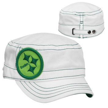 New Era Chicago Bears St. Patrick's Day Women's Chic Cadet Adjustable Hat - White