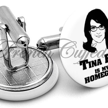 Tina Fey My Homegirl Cufflinks