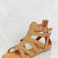 Keep It Strappy Sandal Natural