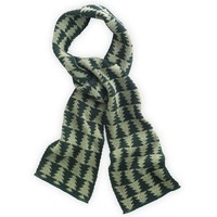 Holiday Tesselation Christmas Tree Scarf - Manufactured in Upstate New York