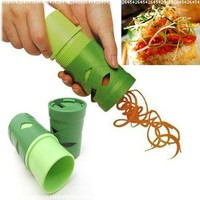 Multifunction Vegetable Fruit Twister Cutter Slicer Utensil Processing Device:Amazon:Kitchen & Dining