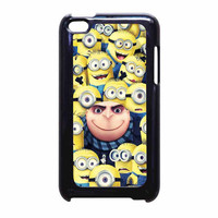 Despicable Me Gru And Minions iPod Touch 4th Generation Case
