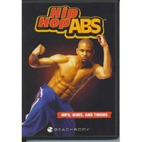 HIP HOP ABS Package - Fat Burning Cardio, Ab Sculpt, Total Body Burn, Secrets to Flat Abs
