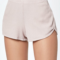John Galt Ribbed Track Shorts at PacSun.com
