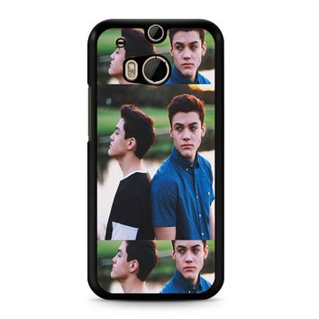 Ethan And Grayson Dolan Twin HTC M8 Case