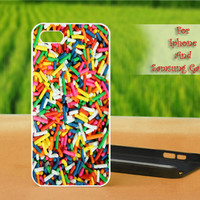 Sprinkles Rainbow Cake Cute Cool - For iPhone case, Samsung Galaxy case and iPod case. Select an option