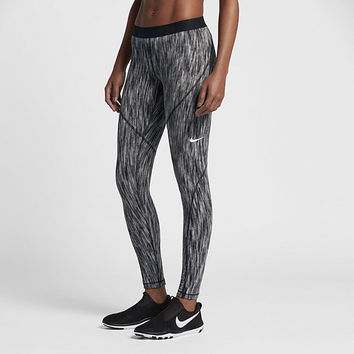 The Nike Pro HyperWarm Women's Training Tights.