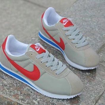 nike cortez classic unisex sport casual cloth surface running shoes couple retro sneakers-3