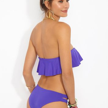 Estella Bikini Bottom - Electric Purple