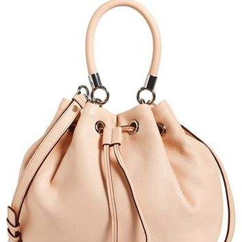 Women's MARC BY MARC JACOBS 'Too Hot to Handle' Leather Drawstring Bag