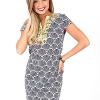 Wave After Wave Black And White Dress | Monday Dress Boutique