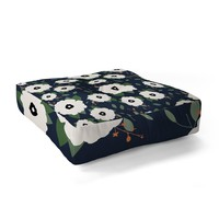 Allyson Johnson Floral Class Floor Pillow Square