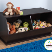 KidKraft Double Storage Unit - Espresso - 14174