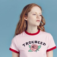 Lazy Oaf Troubled T-shirt