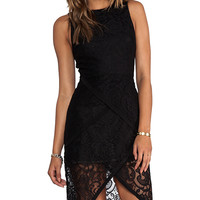 Suboo The Standard Lace Dress in Black