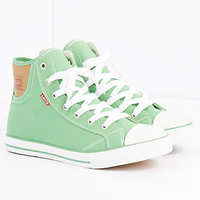 Light Green Classic High Top Sneaker By Levi's®