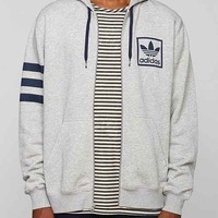 adidas Originals Trefoil Full-Zip Hooded Sweatshirt-
