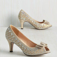 All That Dazzle Heel | Mod Retro Vintage Heels | ModCloth.com