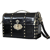 Black Treasure Box Bag