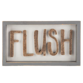 Flush Wood Wall Decor | Hobby Lobby | 1655232
