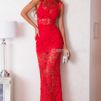 PRE ORDER - Lace Goddess Maxi Dress (Expected Delivery 3rd April, 2015)