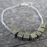 Assbutt Bracelet - Supernatural Metal Beaded Bracelet