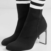 rag & bone - Ellis stretch-knit sock boots