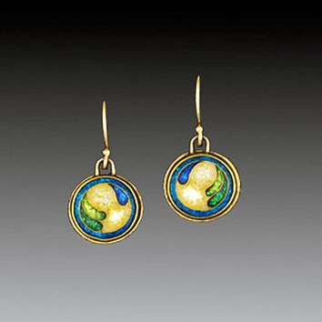 All NEW  D'OR Cloisonne Enamel Earrings