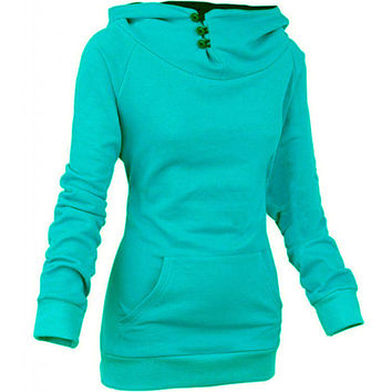 Women's Hoodies Sweatshirts casual Sportwear fleece