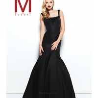 Preorder - Mac Duggal 48136R Black Sexy Fitted Mermaid Long Gown 2016 Prom Dresses