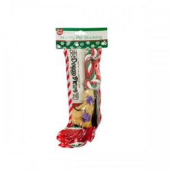 Christmas Stocking With Dog Toys (pack of 4)
