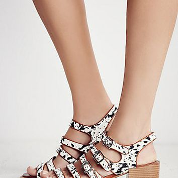 Free People Houston Strappy Block Heel