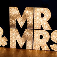 Marquee Letter Carnival Lighting