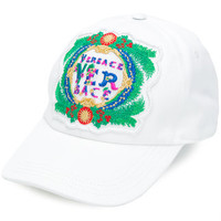 Versace Embroidered Baseball Cap - Farfetch