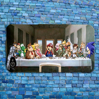 Custom Last Supper Cool Jesus Yoshi Mario Zelda iPhone Case iPhone Popular Phone Cover iPhone 4 iPhone 5 iPhone 4s iPhone 5s iPhone 5c