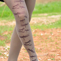 DRAGONFLY Tights- size S / M / L / XL full length tights