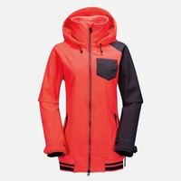 Volcom Womens Pistol Softshell Jacket (Firecracker) Snow Snow Jackets Womens Jackets at 7TWENTY Boardshop, Inc