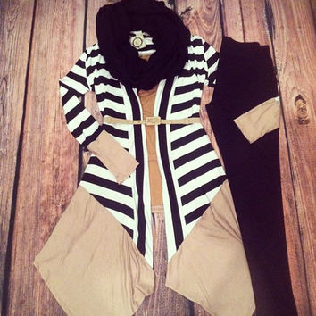 """""""Touch Of Taupe"""" Cardigan"""
