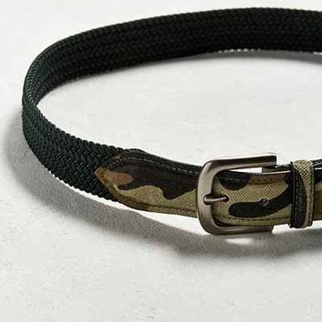 UO Stretch Cord Camo Belt - Urban Outfitters