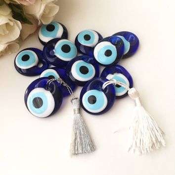 Nazar boncuk wedding favors for guest, 50 evil eye wedding favors, greek evil eye beads, 50 greek evil eye charm, greek wedding favors