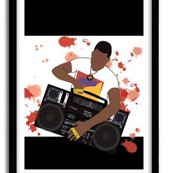 Classic Movie Poster, Do The RIght Thing Poster, Movie print, Spike Lee, Christmas gift, Classic 80's Hip-hop Poster A3 Poster