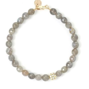 Tess and Tricia Labradorite Accent Bracelet