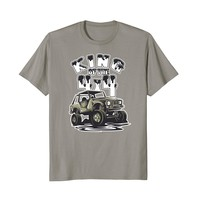 King of the 4x4 Off Roading T-shirt