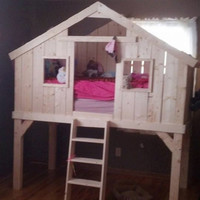 Child's custom made dream bed at a parent's dream price.