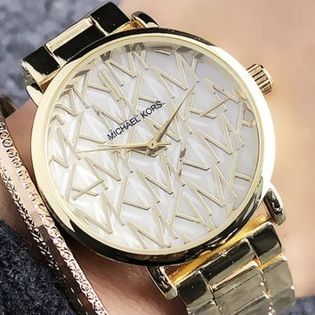 Michael Kors MK Woman Men Fashion Quartz Classic Wristwatch Watch