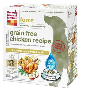 The Honest Kitchen Force - Grain Free Chicken Dog Food - 10 Lb.