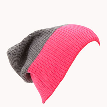 Classic Colorblocked Beanie | FOREVER 21 - 2000111455