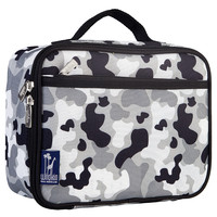 Gray Camo Lunch Box - 33275